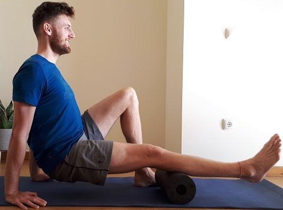 foam roller calf muscles