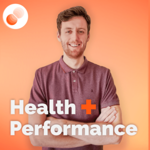health performance podcast artwork landscape